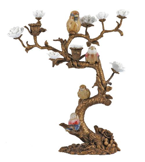 mudo-kuslu-mumluk - Dekorasyonda kuş figürü
