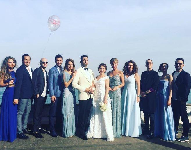 Derya Karadaş ve Haki Biçici`nin Düğününden ilk Görüntüler