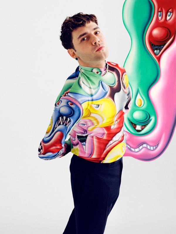 Xavier Dolan - Dior Men 2021 Dijital Şovunda Ünlü İsimler