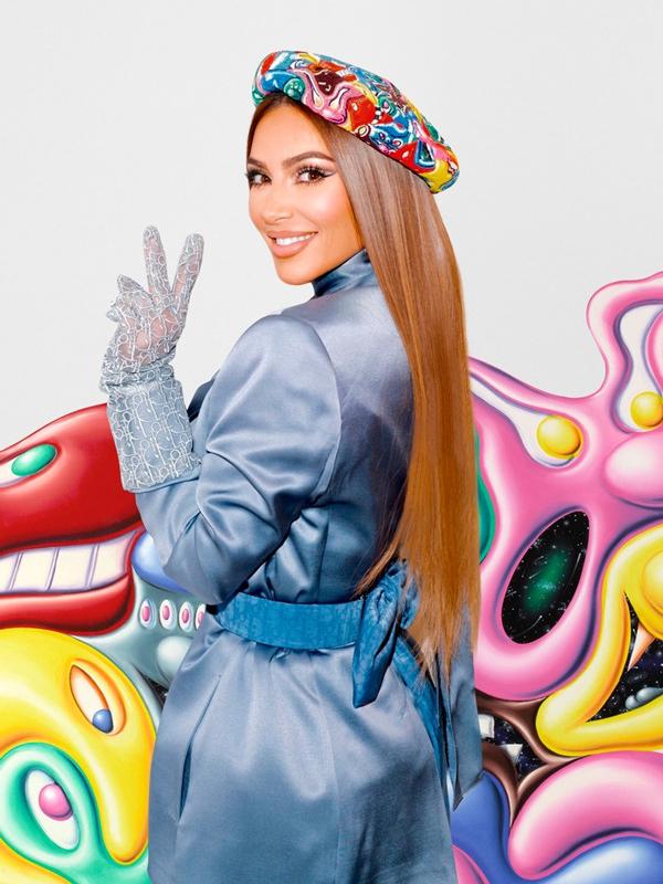 Kim Kardashian - Dior Men 2021 Dijital Şovunda Ünlü İsimler