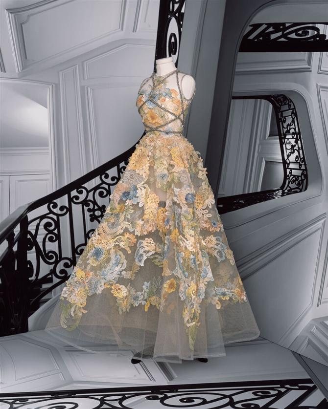 Dior Sonbahar/Kış 2020-21 Haute Couture Koleksiyonundan Büyüleyici Tasarımlar - Dior Sonbahar/Kış 2020-21 Haute Couture Koleksiyonundan Büyüleyici Tasarımlar