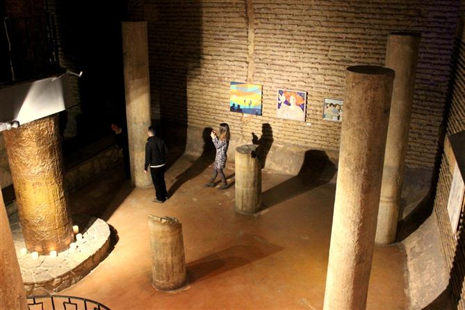 """""""Disiplinler Arası Buluşma"""" Sergisi Antik Cisterna'da - """"Disiplinler Arası Buluşma"""" Sergisi Antik Cisterna'da"""