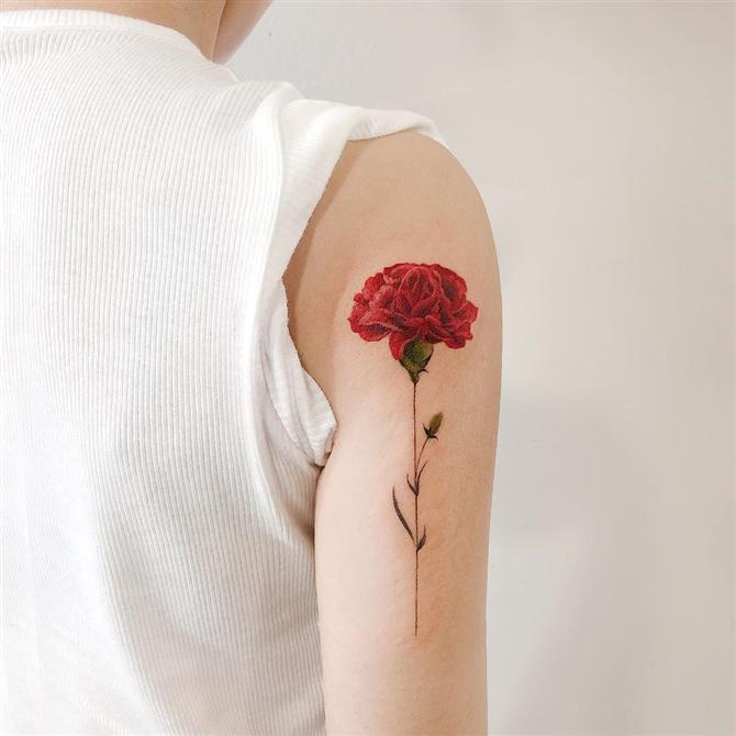 Doğa Aşıklarının Bayılacağı 10 Havalı Çiçek Dövmesi - Doğa Aşıklarının Bayılacağı 10 Havalı Çiçek Dövmesi