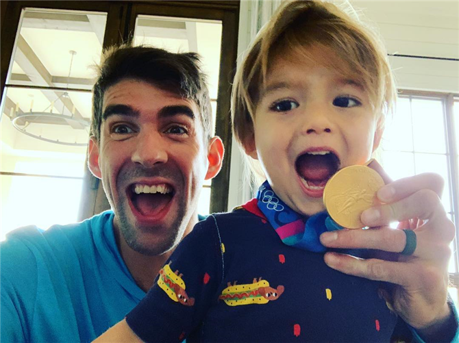 Michael Phelps- Nicole Johnson