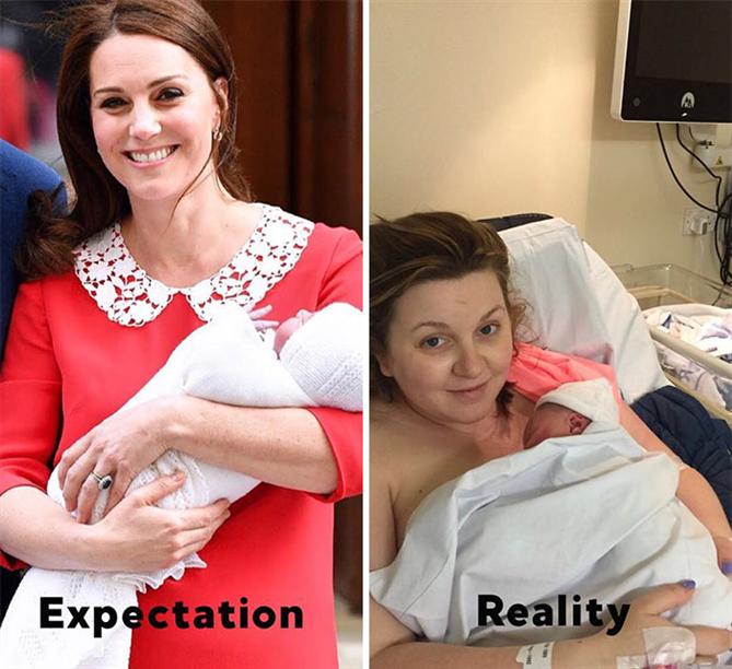 Doğumdan Sonra Kate Middleton ve Gerçekler