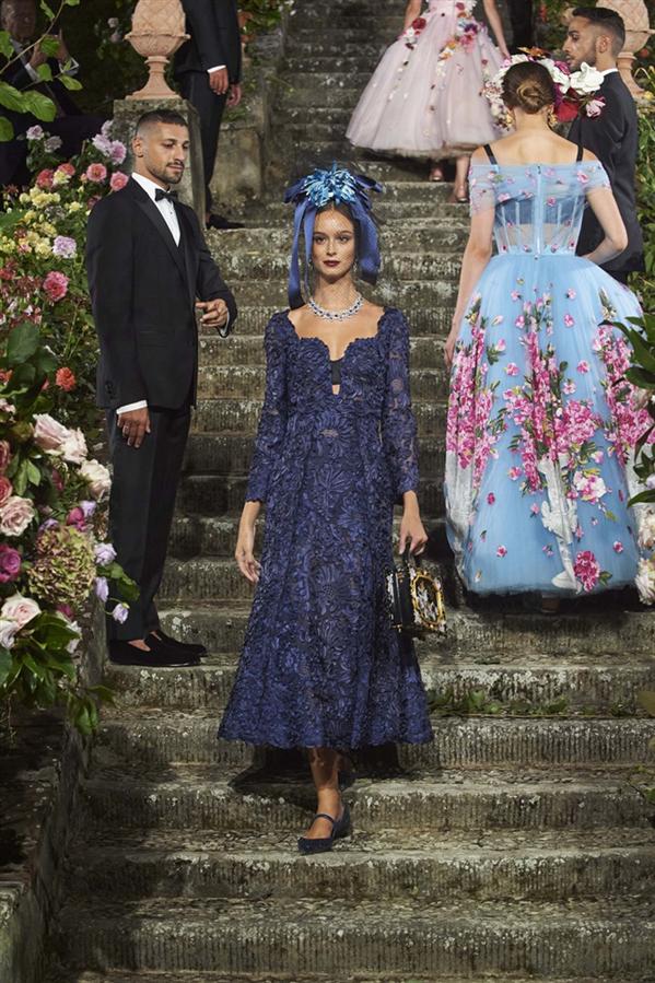 Dolce & Gabbana Alta Moda Şovundan Büyüleyen Detaylar - Dolce & Gabbana Alta Moda Şovundan Büyüleyen Detaylar