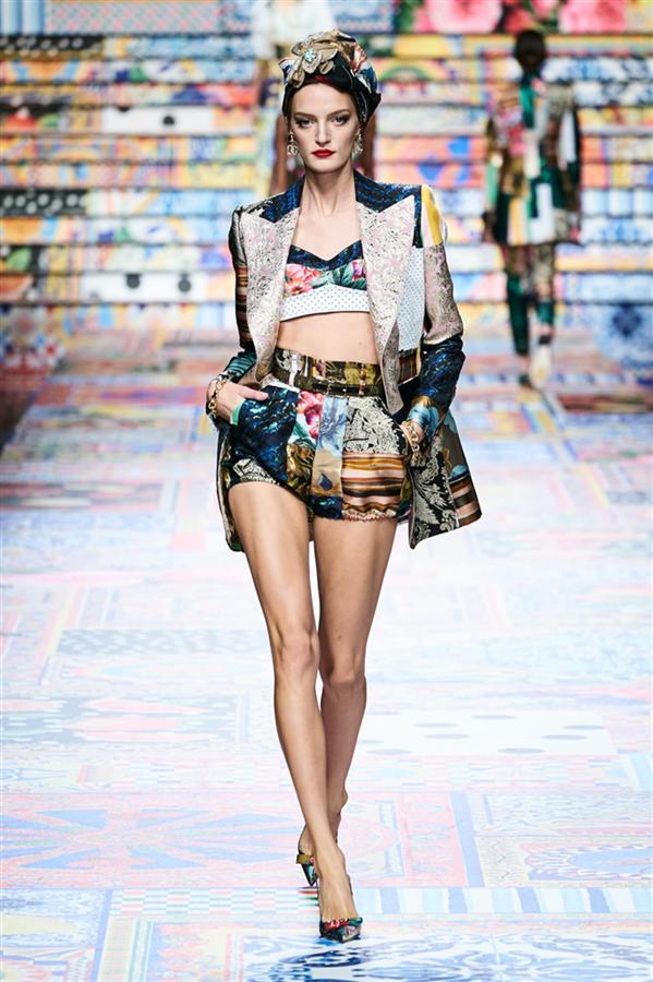 Dolce & Gabbana İlkbahar/Yaz 2021 Koleksiyonundan En İyiler