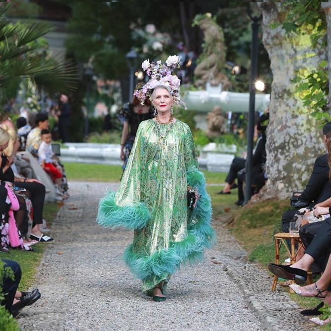 Dolce Gabbana'nın Alta Moda Fashion Show Görkemi