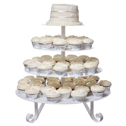 dugun-pastasi-cupcake-tree - Düğün pastaları