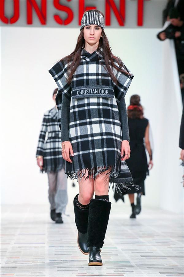 Ekose Etkisinde Dior Sonbahar/Kış 2020 Tasarımları