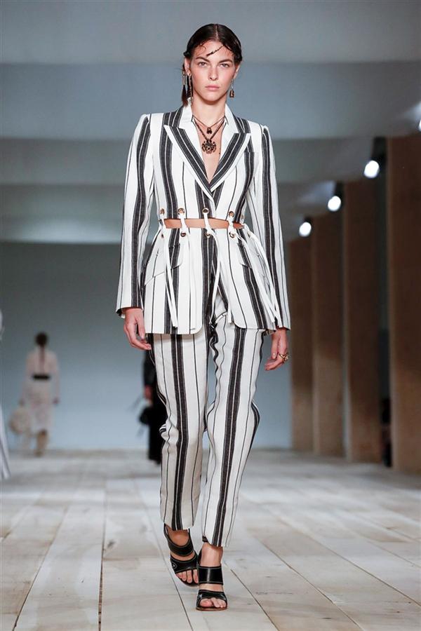 Elegan Tasarımlar: Alexander McQueen İlkbahar/Yaz 2020 - Elegan Tasarımlar: Alexander McQueen İlkbahar/Yaz 2020