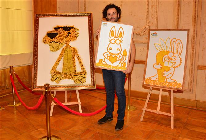 Erdil Yaşaroğlu'nun İkonik Karakterleri Cheetos Müzesi'nde - Erdil Yaşaroğlu'nun İkonik Karakterleri Cheetos Müzesi'nde