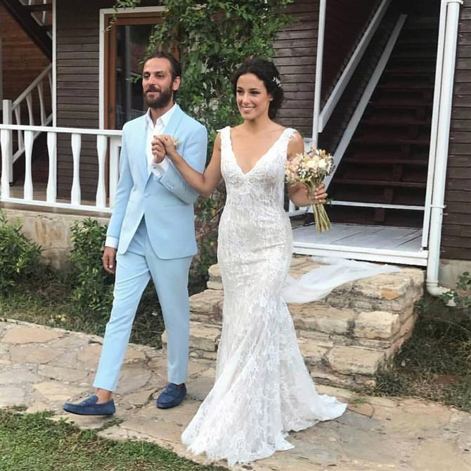 Erkan Kolçak Köstengil ve Cansu Tosun'un Festival Tadındaki Düğünü