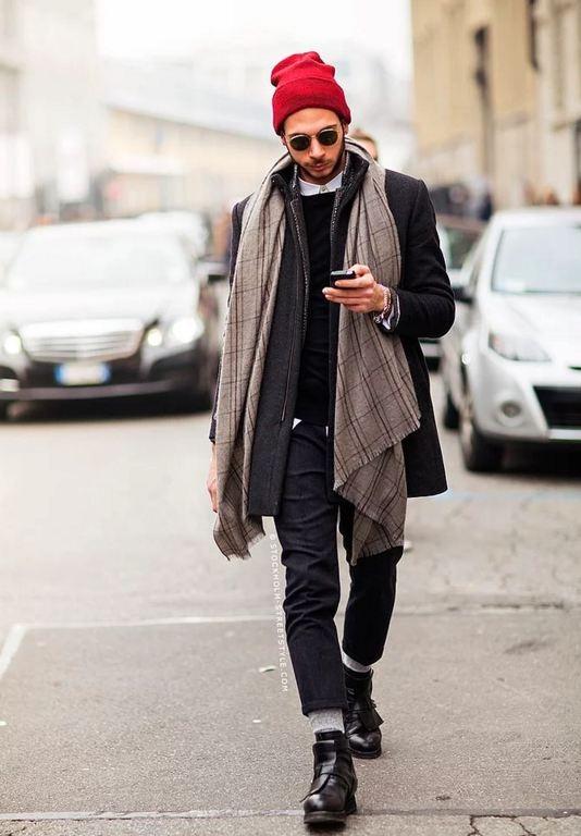 Erkek Modasında Şal Trendi