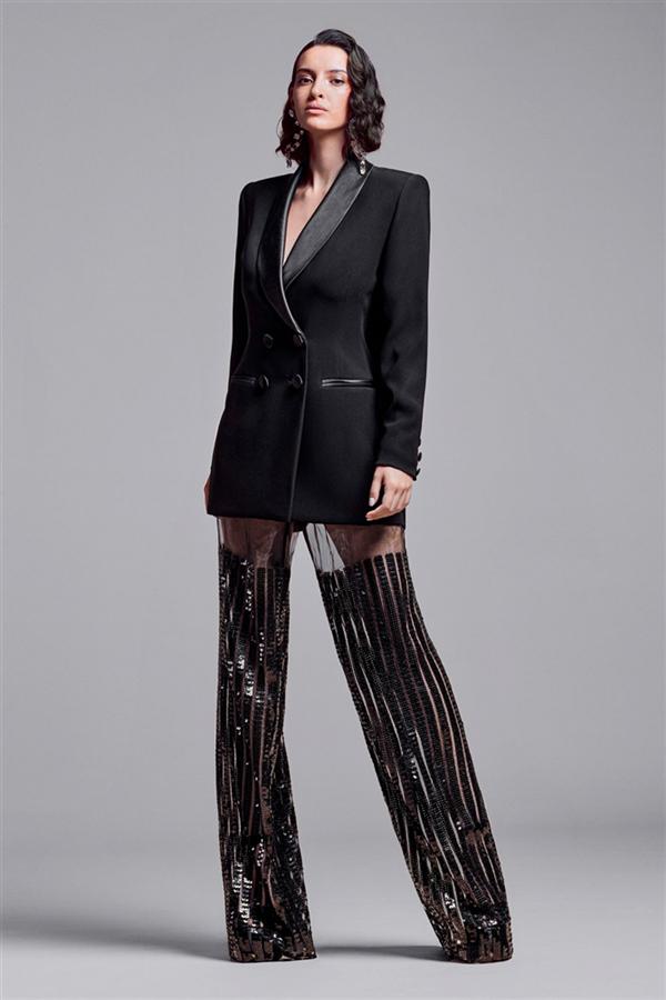 Eski Hollywood Işıltısı: Georges Chakra Couture Sonbahar/Kış 2021 - Eski Hollywood Işıltısı: Georges Chakra Couture Sonbahar/Kış 2021