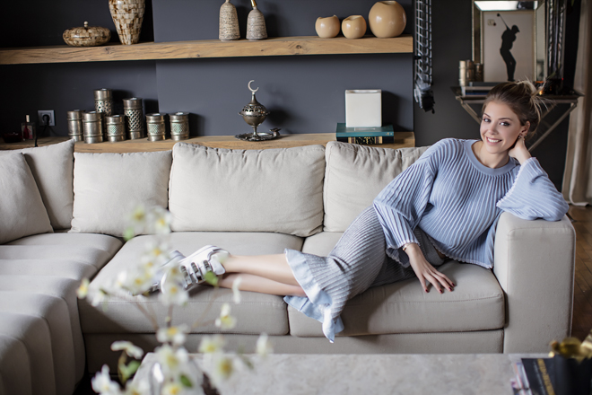 Esra Eron'un Evi InStyle Home Mayıs Sayısında