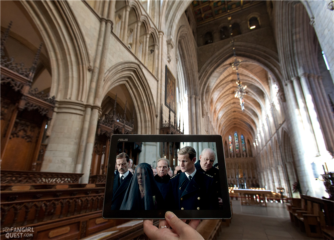 Film Fotoğrafları Gerçek Mekanlarıyla Buluştu