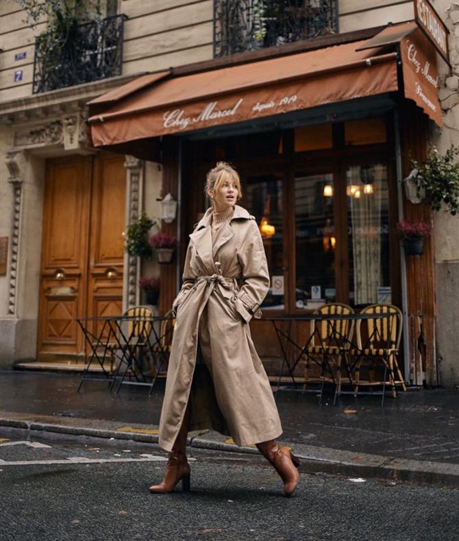 Fransız Kadınlarının Muhteşem Görünümleri - Fransız Kadınlarının İlham Veren Muhteşem Stil Görünümleri