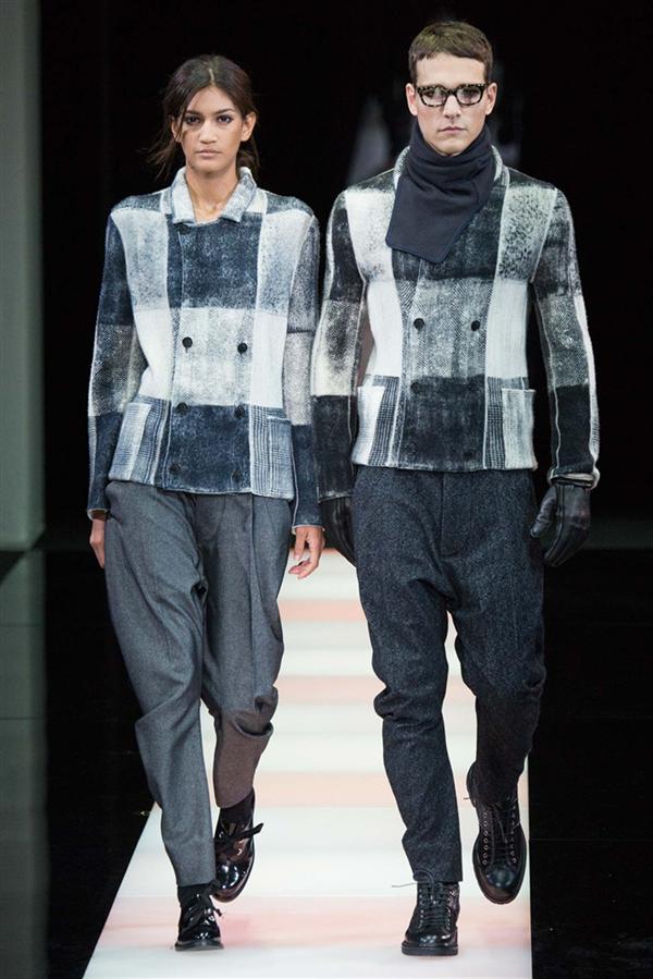 Giorgio Armani Kış 2015 Erkek Koleksiyonu - Giorgio Armani Kış 2015 Erkek Koleksiyonu