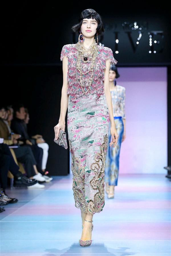 Giorgio Armani Privé Haute Couture İlkbahar/Yaz 2020 Tasarımları - Giorgio Armani Privé Haute Couture İlkbahar/Yaz 2020 Tasarımları