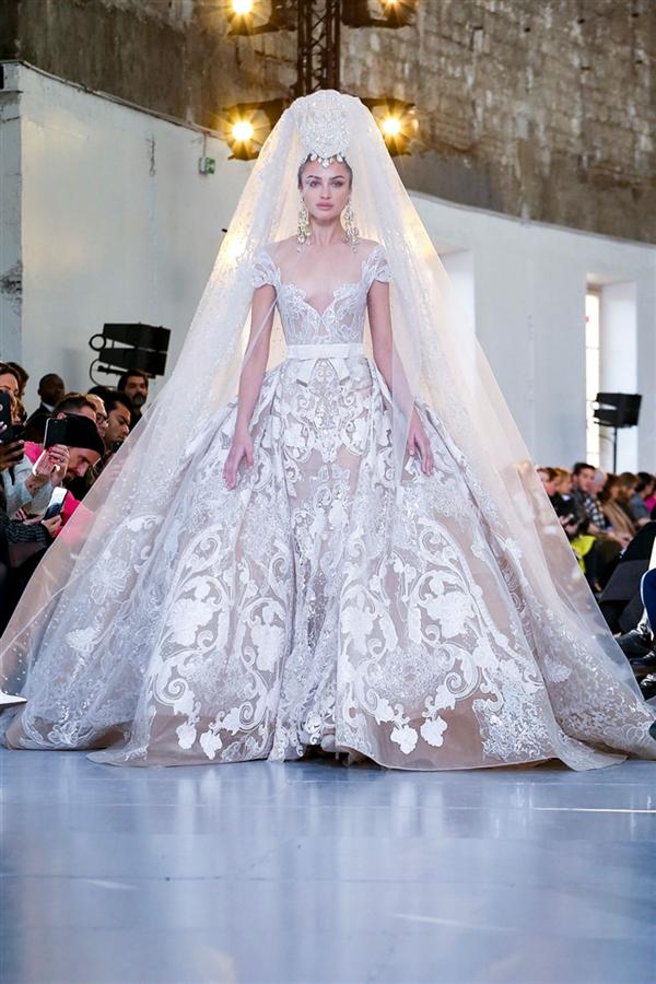 Görkemli Elie Saab Haute Couture İlkbahar/Yaz 2020 Tasarımları