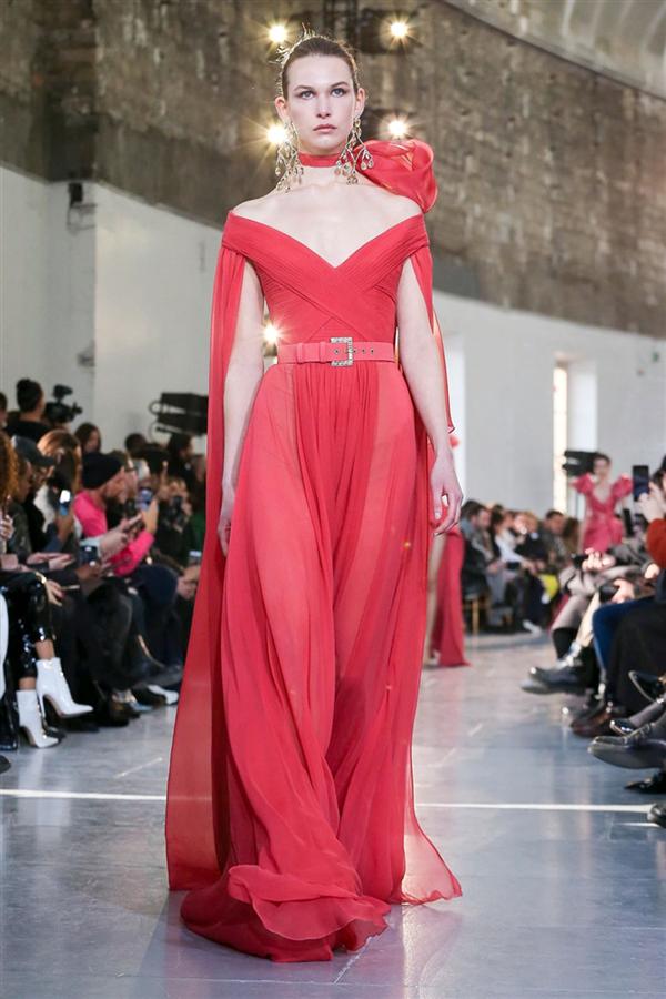 Görkemli Elie Saab Haute Couture İlkbahar/Yaz 2020 Tasarımları - Görkemli Elie Saab Haute Couture İlkbahar/Yaz 2020 Tasarımları