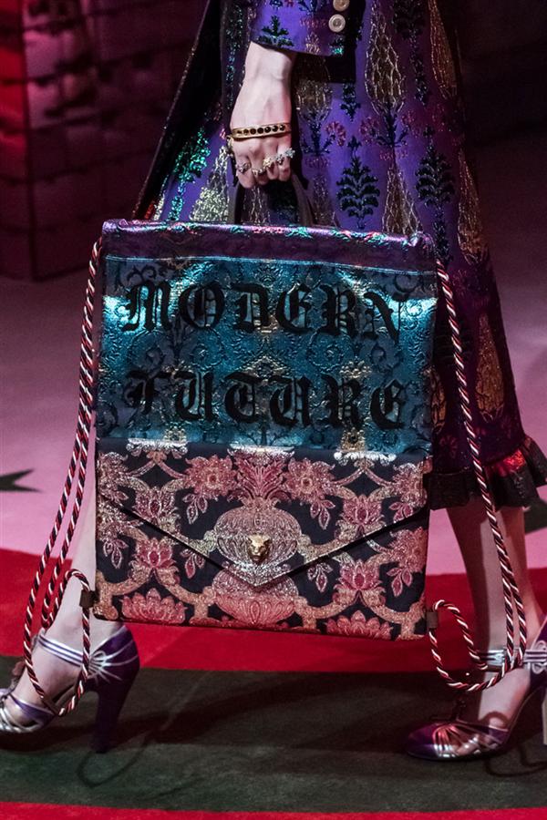 Gucci Bahar 2017 Defilesi: Detaylar - Gucci Bahar 2017 Defilesi: Detaylar