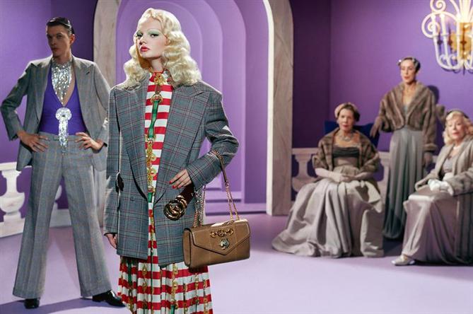 Gucci İlhamını Eski Hollywood'tan Aldı