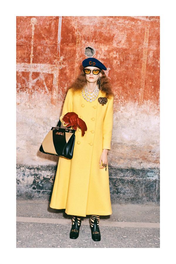Gucci Pre-Fall 2019 Koleksiyonundan Öne Çıkan Tasarımlar