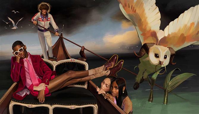 Gucci'den Yeni Koleksiyonu İçin Sanatsal Tanıtım
