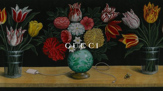 Gurmelerle Moda Severleri Buluşturan Restoran: The Gucci Garden