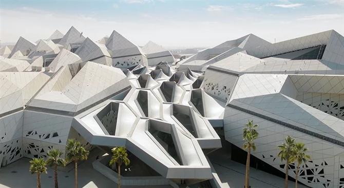 Hadid Archictects King Abdullah Centre'ı Tanıttı
