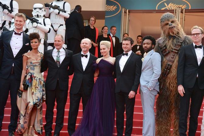 Han Solo: A Star Wars Story Prömiyeri Şıklık Yarışına Dönüştü