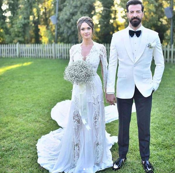 Hande Soral ve İsmail Demirci'nin Evlendi