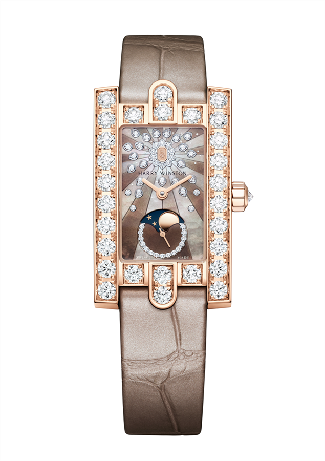 Harry Winston The Avenue Koleksiyonundan Avenue Classic Moon Phase - Harry Winston The Avenue Koleksiyonundan Avenue Classic Moon Phase