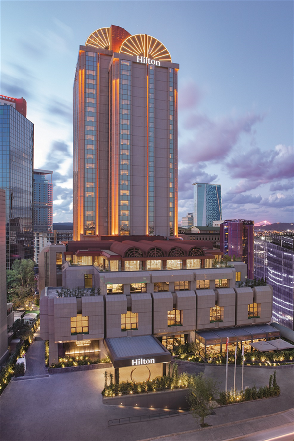 Hilton'un Maslak'taki Eşsiz Başarısı - Hilton'un Maslak'taki Eşsiz Başarısı