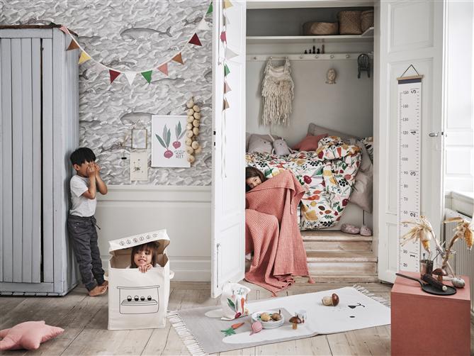 H&M Home Çocuk Odalarına Orman Bitkilerini ve Hayvanları Getiriyor - H&M Home Çocuk Odalarına Orman Bitkilerini ve Hayvanları Getiriyor
