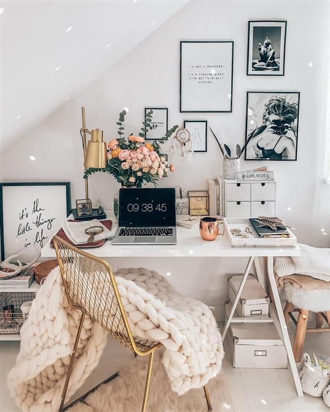 Home Ofis Dekorasyonu İçin İlham Veren Fikirler