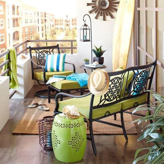 İlham Verici Balkon Dekorasyonları
