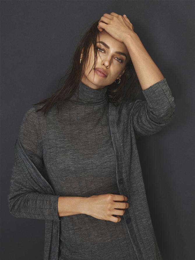Intimissimi'nin Nötr Tonlardaki 'Knitwear' Koleksiyonunun Yüzü Irina Shayk - Intimissimi'nin Nötr Tonlardaki 'Knitwear' Koleksiyonunun Yüzü Irina Shayk