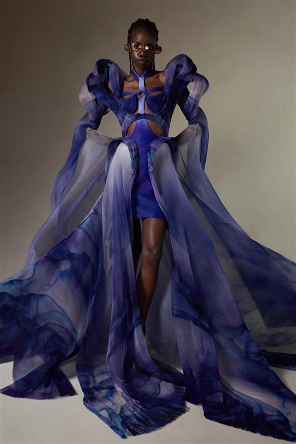 """Iris Van Herpen Couture Sonbahar/Kış 2022 Koleksiyonu """"Earthrise"""" - Iris Van Herpen Couture Sonbahar/Kış 2022 Koleksiyonu """"Earthrise"""""""