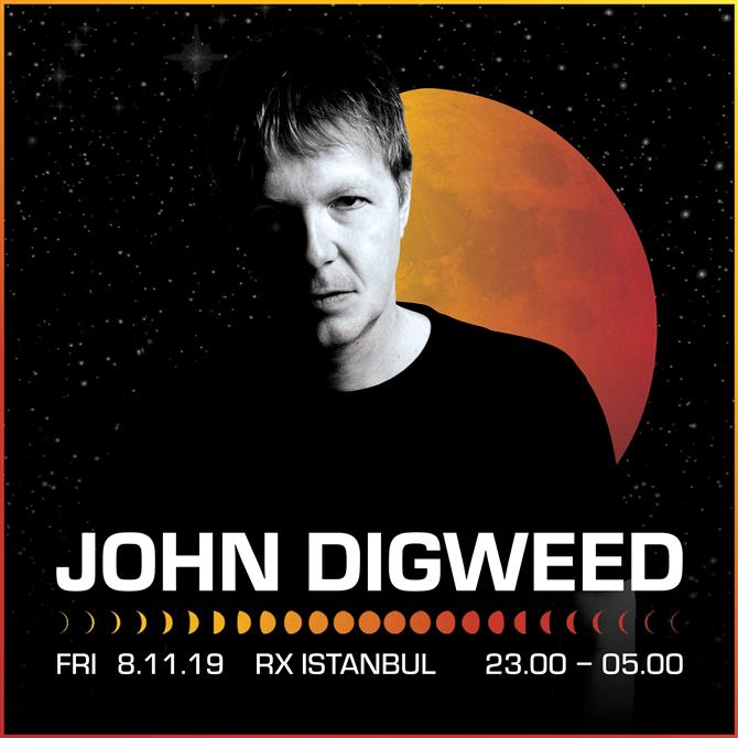 John Digweed Unutulmayacak Bir Hafta Sonu İçin İstanbul ve Ankara'da - John Digweed Unutulmayacak Bir Hafta Sonu İçin İstanbul ve Ankara'da