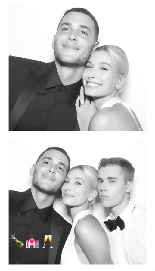 Justin Bieber ve Hailey Baldwin'in Düğünlerinden Özel Fotoğraflar