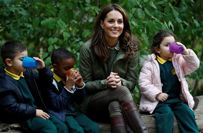 Kate Middleton Doğum İzninin Ardından İlk Ziyaretini Gerçekleştirdi
