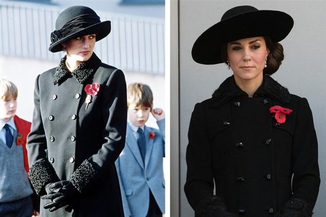 Kate Middleton ve Lady Diana Stillerinin Kesişim Anları - Kate Middleton ve Lady Diana Stillerinin Kesişim Anları