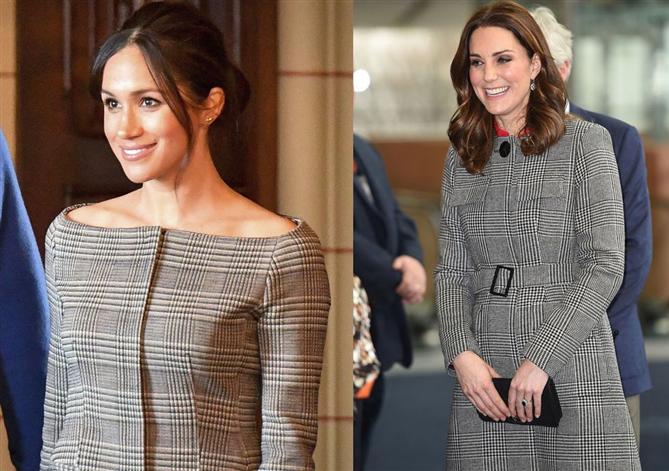 Kate Middleton Ve Meghan Markle'ın Stil Kardeşliği