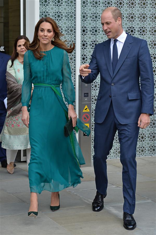 Kate Middleton'ın Göz Kamaştıran Yeşil Elbisesi - Kate Middleton'ın Göz Kamaştıran Yeşil Elbisesi
