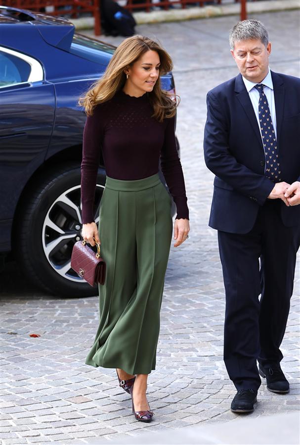 Kate Middleton'ın Kusursuz Sonbahar Kombini - Kate Middleton'ın Kusursuz Sonbahar Kombini