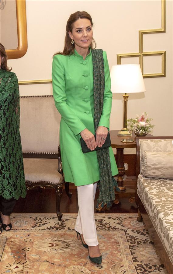 Kate Middleton'ın Pakistan Ziyareti Stili - Kate Middleton'ın Pakistan Ziyareti Stili