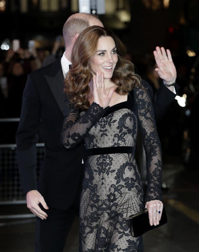 Kate Middleton'ın Zarif Davet Stili